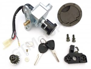 Ignition Barrel and Accessories for the Yamaha Aerox YQ50