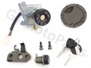 Complete Lock Set and Keys for the Yamaha Aerox YQ50 Scooter