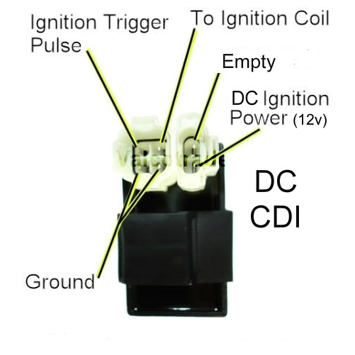 DC 12 Volt CDI Connector