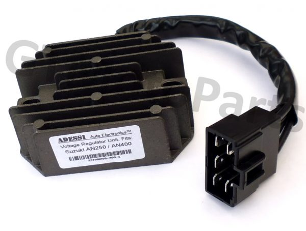 Voltage Rectifier for the Suzuki AN250 and AN400 Burgman