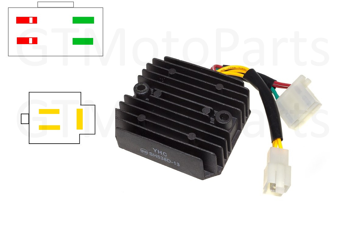 Transalp Voltage Regulator Rectifier 1991-1999