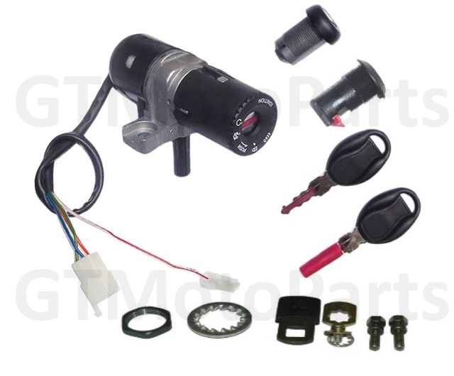 Lockset for the Aprilia Habana Mojito Scooter